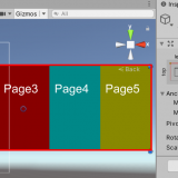 [UNITY]ScrollRectを拡張してページめくりを実装する。